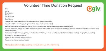 9 Awesome And Effective Fundraising Letter Templates Volunteer Department Donation Letter Template