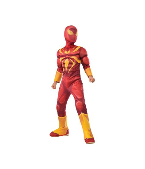 iron spiderman boys costume cosplay costumes