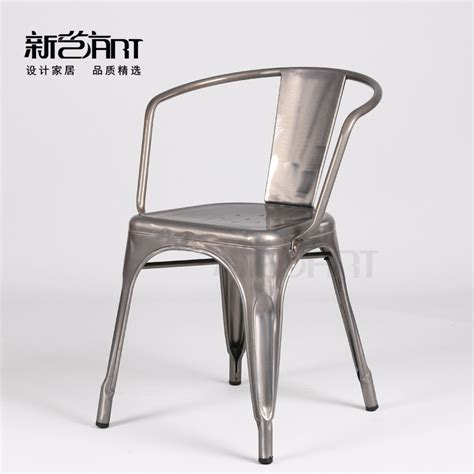 Industrial Arm Chair Design Ideas European Iron Chairs Metal Chairs Minimalist Fashion Casual Dining Chairs Industrial Style Chair