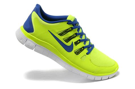 blue and yellow nike running shoes nike free 5 0 mens running shoes electric yellow blue