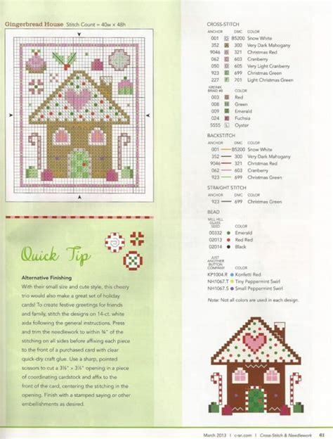 cross stitch pattern house rules cross stitch little gingerbread house card pattern