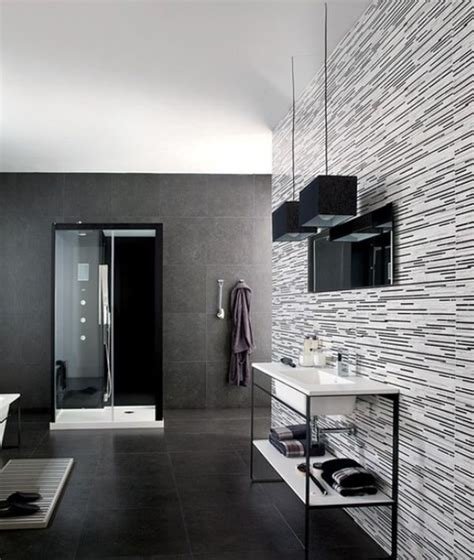 black white and grey bathroom ideas when is it right to use dark colors in home decor