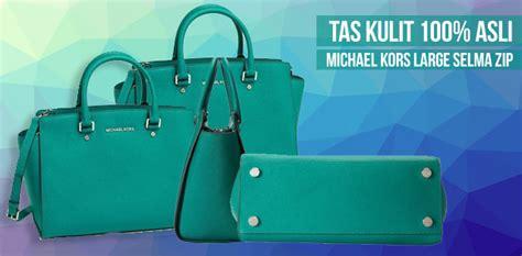 Tas Michael Kors Selma Asli til gaya dengan tas kulit asli michael kors
