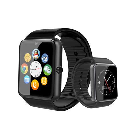gt08 bluetooth smart wrist watch sim phone mate for iphone gt08 bluetooth smart wrist watch phone mate for apple ios