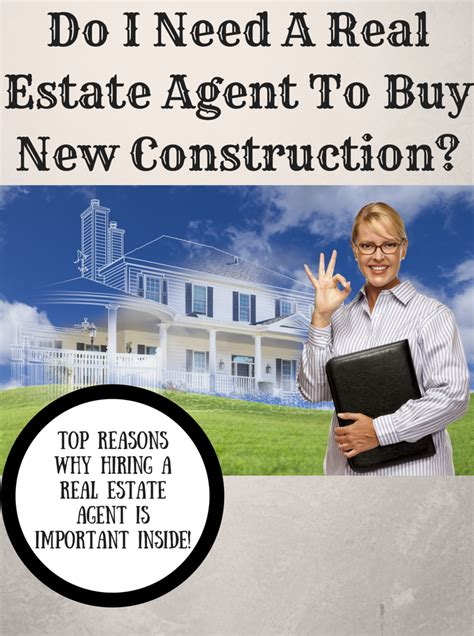 buying a house without estate agent do i need a real estate agent to buy new construction