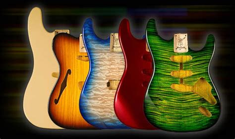 warmoth custom guitar parts paint