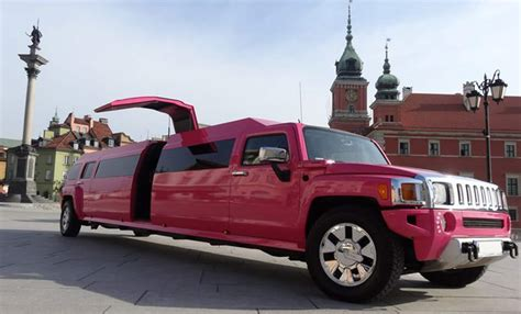 pink limousine pink limo airport transfer warsaw xperiencepoland