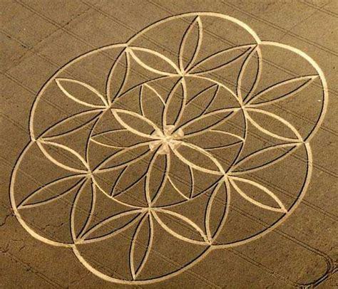 geometric designs using circles geometric design thru crop circle