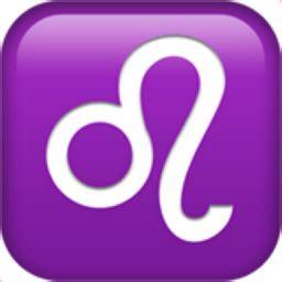 emoji zodiac sign leo emoji u 264c u fe0f