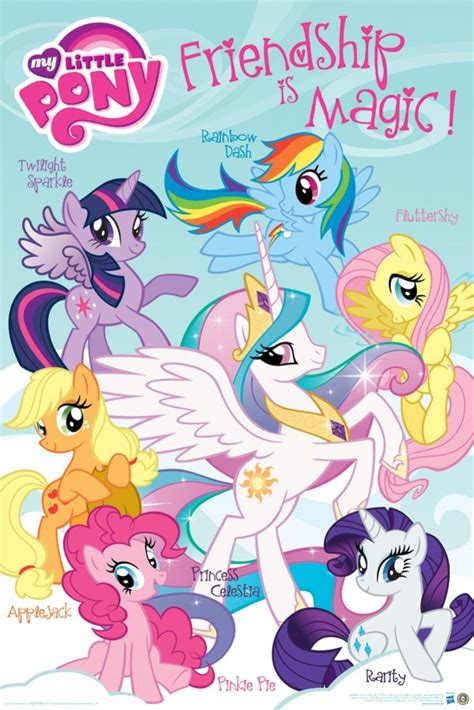 Star Wars Home Decor by My Little Pony Friendship Wall Poster