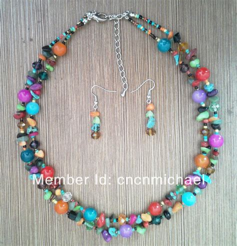 Pricing Handmade Jewelry - no moq fashion multicolor handmade beautiful jewelry set