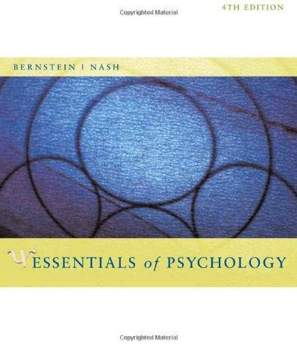 essentials of psychology books isbn 9780618713127 essentials of psychology 4th edition