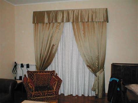 Tendaggi Interni Classici - tendaggio classico in jaquard e taffeta di seta il