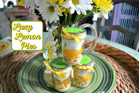 gifts from the kitchen lazy lemon pie the