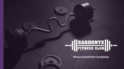 powerpoint themes for a gym gym premium powerpoint template fitness ppt themes