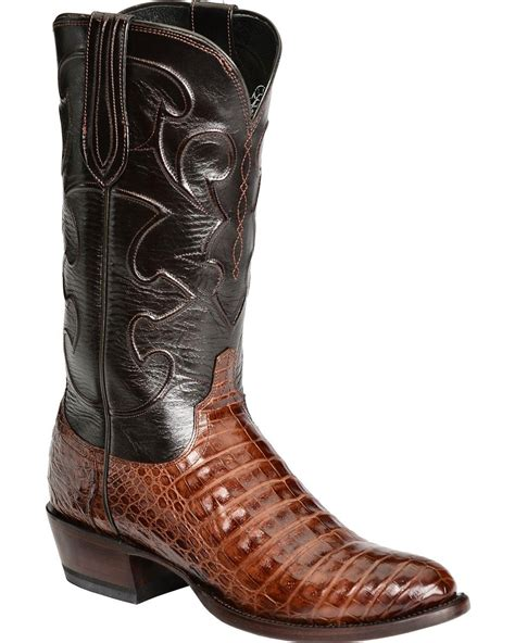 Handcrafted Boots - lucchese handcrafted 1883 caiman belly cowboy boots