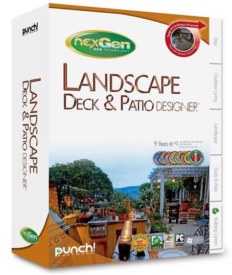 landscape design software draw landscape deck and patio punch landscape deck patio designer w nexgen tech