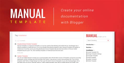 project manual template manual template create your document with
