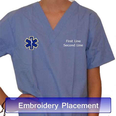 44990 Black Space Embriodery Top pink scrubs scrubs