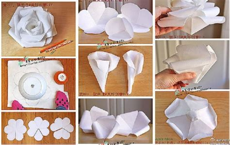 How To Make A Paper Roses In Step By Step - 404 not found
