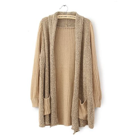 knit sweater cardigan plush knit cardigan sweater on luulla