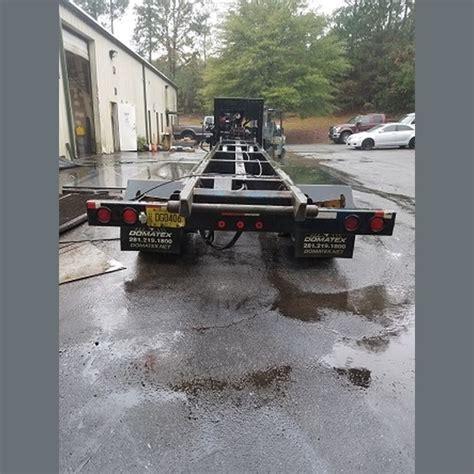 domatex gooseneck roll  trailer