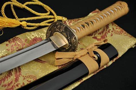 Handmade Japanese Samurai Swords - handmade japanese samurai functional sword katana folded