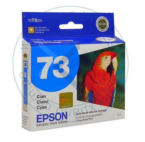 Tinta Epson C79 cartucho epson color cyan n 176 73 para impresoras epson