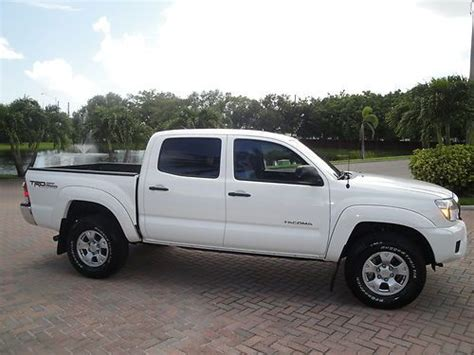 Toyota Warranty Check Buy Used 2012 Toyota Tacoma Prerunner Road Cab