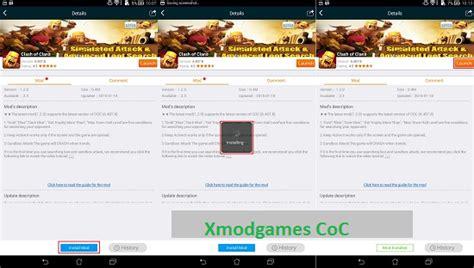 xmodgames coc tanpa root xmodgames clash of clans gold dan elixir tanpa batas