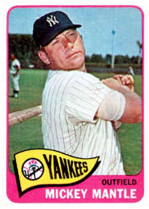 Baseball Gift Card - topps baseball cards 1960 1969