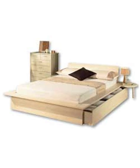 Bed Frames Sacramento Sacramento Maple Bed With Storage Frame Only Bed Review Compare Prices Buy