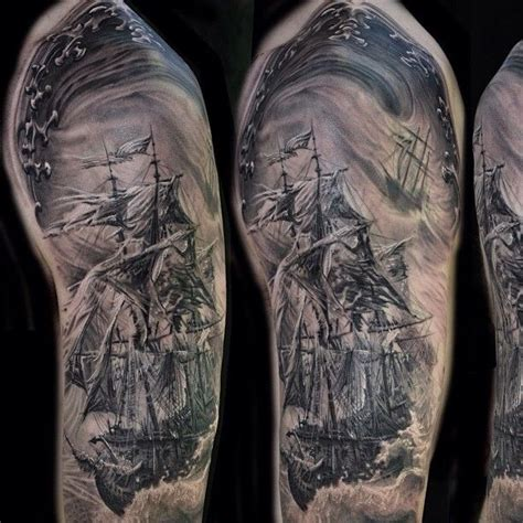 40 pirate tattoos on sleeve