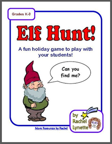 free printable elf on the shelf scavenger hunt free elf hunt christmas week activity minds in bloom