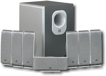 jbl scs series 7 1 channel home theater speaker system