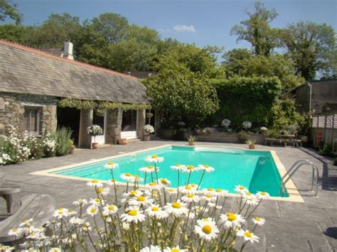 Cottage With Pool Cornwall by Cornwall Accommodation Cornwall Restaurants Pubs Hotels