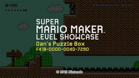 design game puzzles principles of puzzle game design in mario maker youtube