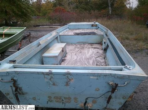 flat bottom boat for sale kansas armslist for sale polarkraft flat bottom boat and 25hp