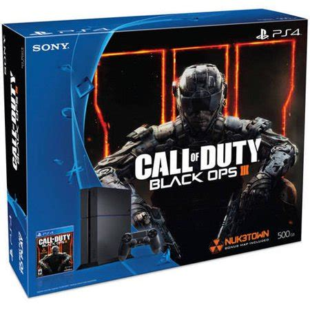 playstation 4 console bundles playstation 4 500gb console bundle with call of duty black