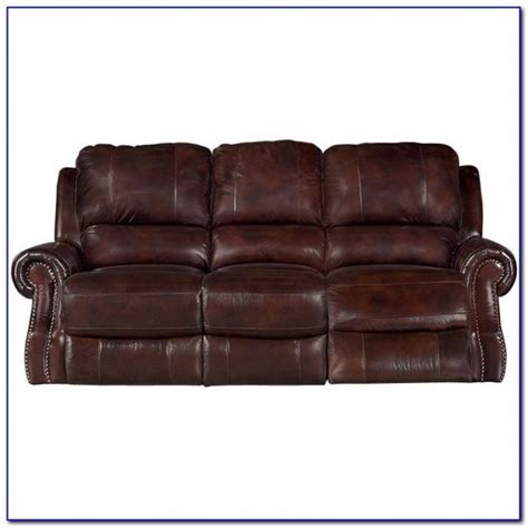 Leather Power Reclining Sofa Costco   Sofas : Home Design