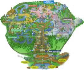 magic kingdom map florida magic kingdom
