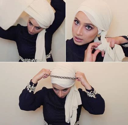 youtube tutorial turban pesta tutorial hijab turban pesta dengan scarf sifon