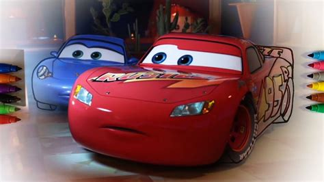 cars 3 sally cars 3 lightning mcqueen and sally coloring