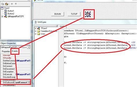 kode bug telkomsel cara membuat inject telkomsel sendiri dengan delphi terbaru