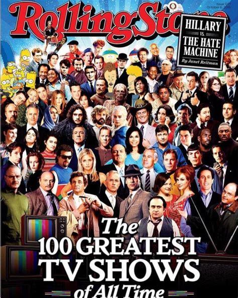 tv show the walking dead lands on rolling s 100 greatest tv