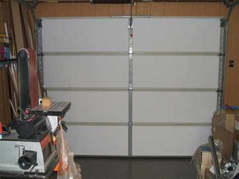Insulating Garage Door With Styrofoam Insulating Garage Door With Styrofoam Panels New Decoration