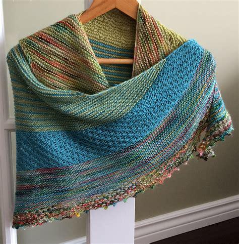 knitting shawl colorful shawl knitting patterns in the loop knitting