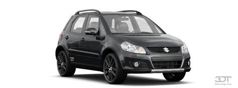 Suzuki Sx4 Custom 3dtuning Of Suzuki Sx4 5 Door Hatchback 2010 3dtuning