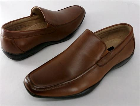 adolfo shoes adolfo sz 8 faux leather slip on shoes light brown new ebay