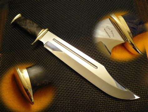 dundee bowie knife crafted dundee style bowie by cote custom knives